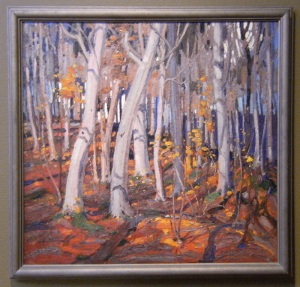 It takes a great artist to communicate that which stands in front of him. Tom Thomson achieved this.